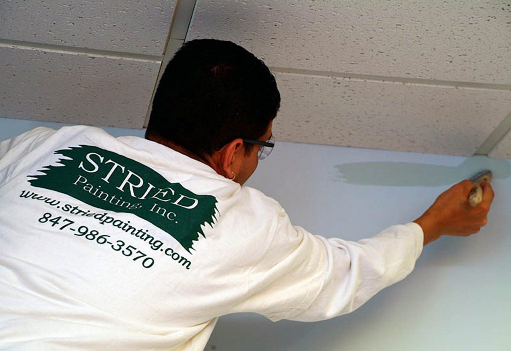 Commercial Interior Prep Painting